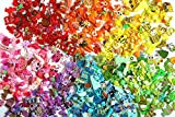 Rainbow I Spy trinkets by TomToy for colorful I spy bags bottles, Colorful miniatures, Colors of the rainbow, 1-3cm, Set of 5/10/20 trinkets in 7 colors (50 trinkets in every color)