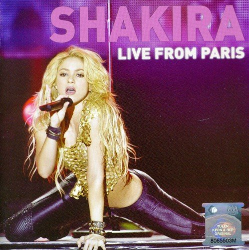 Shakira - (CdDvd) Live From Paris - Zortam Music