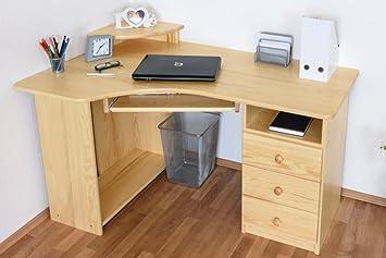 Bureau pin massif console bureau design lepolyglotte en relation