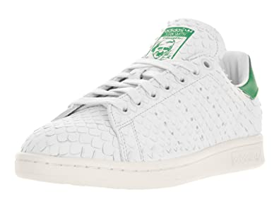 meilleure collection large éventail style moderne adidas Women's Stan Smith W Originals Crywht/Crywht/Green Casual Shoe