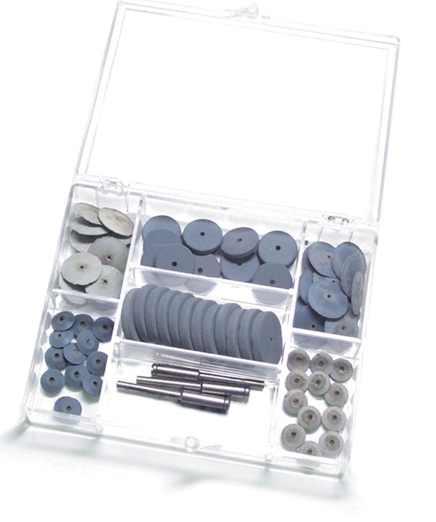 Brightboy Pumice Wheel Assortment 72 Pieces by Brightboy
