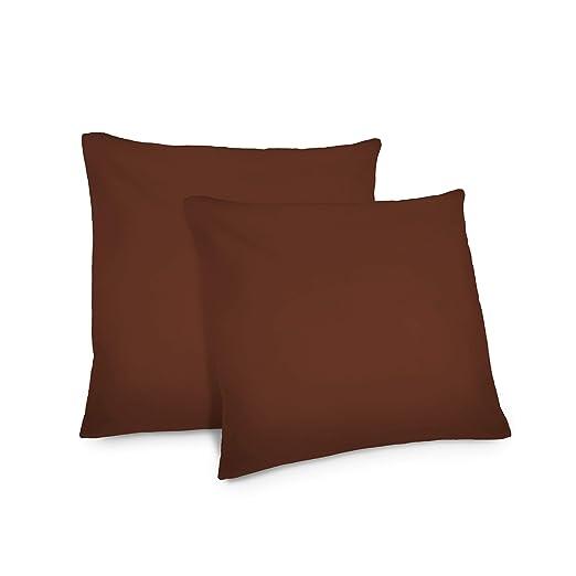 Lumaland Funda de Almohada 50x50 marrón