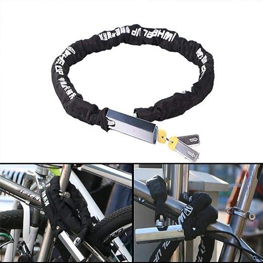 Gbadai Bicicleta candado-Cerradura de Cadena de Bicicleta ...