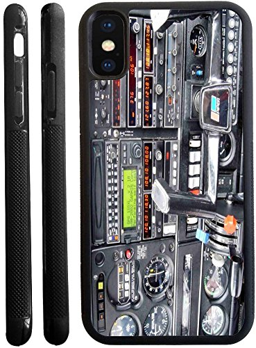 Rikki Knight Cell Phone Case iPhone X - Flight Airplane Cockpit Design (Flight Cell)