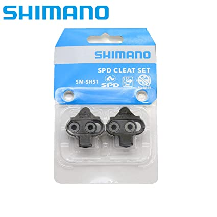 Shimano SPD SM-SH51 Single-Directional Release Cleats w//o Cleat Plate Nuts