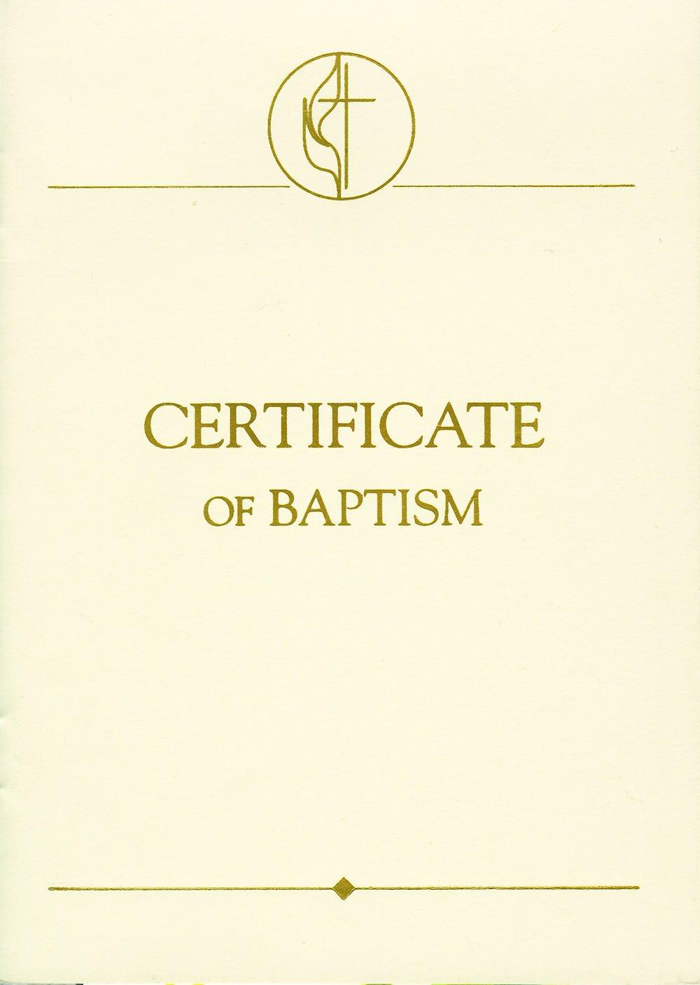 United Methodist Covenant Ii Child Baptism Certificates Pkg Of 3 Abingdon Press 9780687360536 Amazon Com Books United methodist baptism certificate template