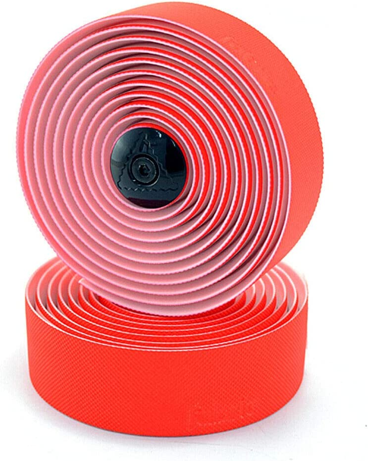 Fabric Knurl Road Bike Bar Tape VL1927 Red