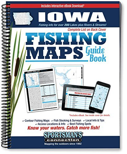 Iowa Fishing Map Guide by Sportsmans Connection (2011-06-24)