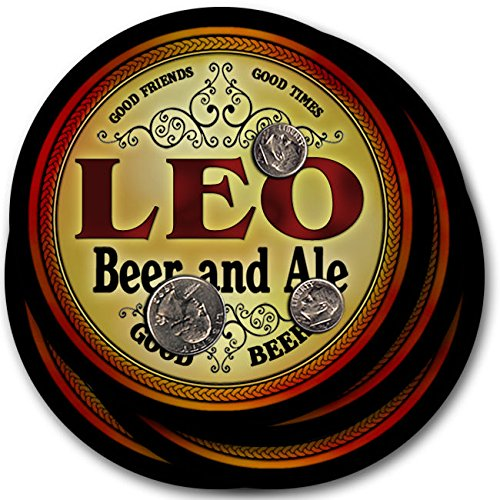 leo-beer-ale-4-pack-drink-coasters