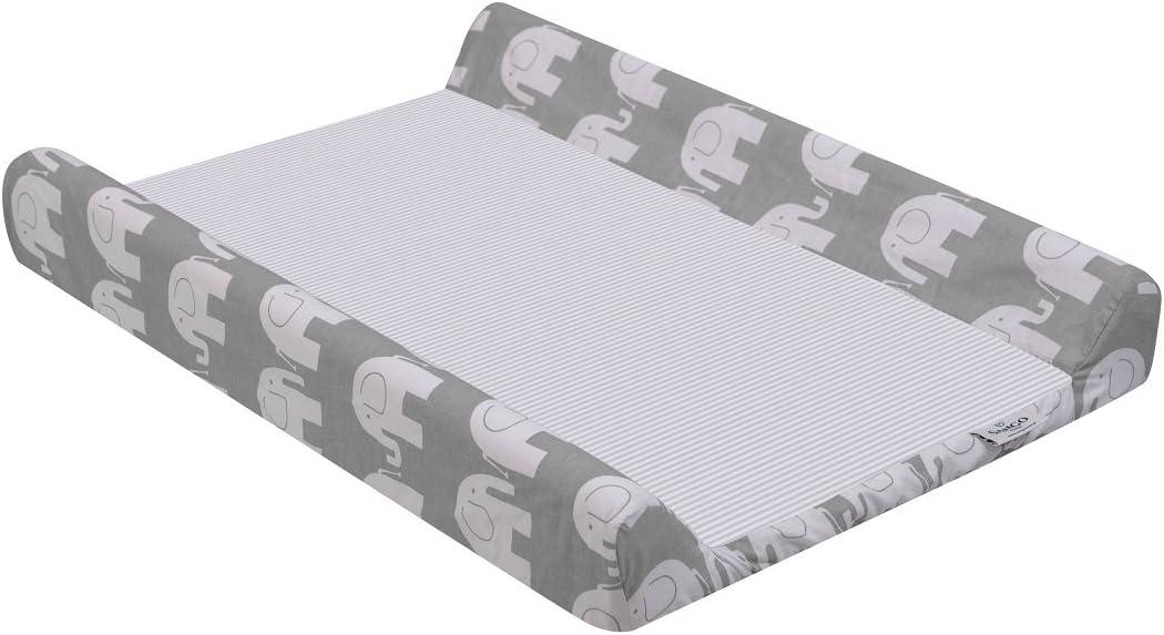 50x70 cm Aventure ensoleill/ée Housse Matelas /à Langer Taille KempKids