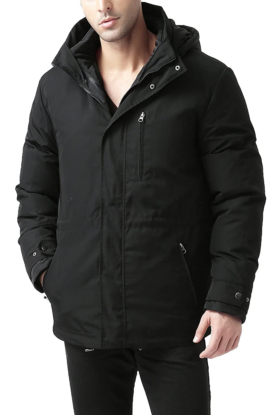 8c0eedfa05b3 Black BGSD BGSD BGSD Men's James 3-in-1 Waterproof Down Parka Coat 7becab
