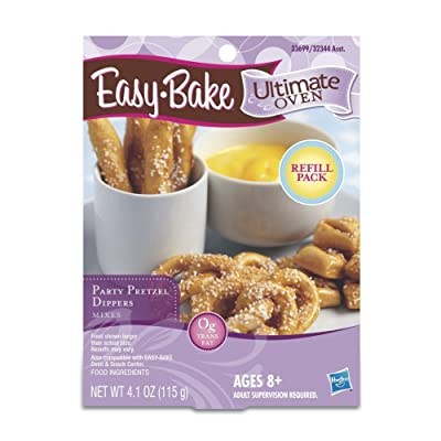 Easy-Bake Ultimate Oven Party Pretzels Refill Pack, 4.1 oz: Toys & Games