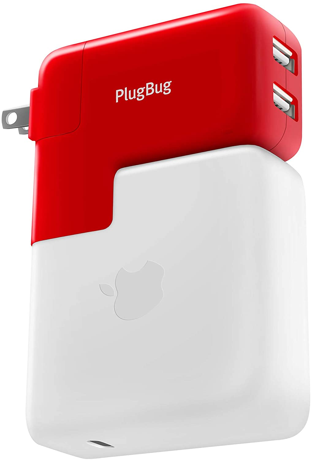 Twelve South PlugBug Duo | All-in-one MacBook global travel adapter + Dual iPhone/iPad/USB charger