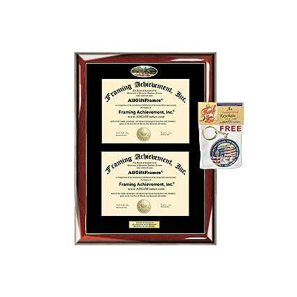 Amazon Com Double Diploma Frame Sfasu Stephen F Austin State
