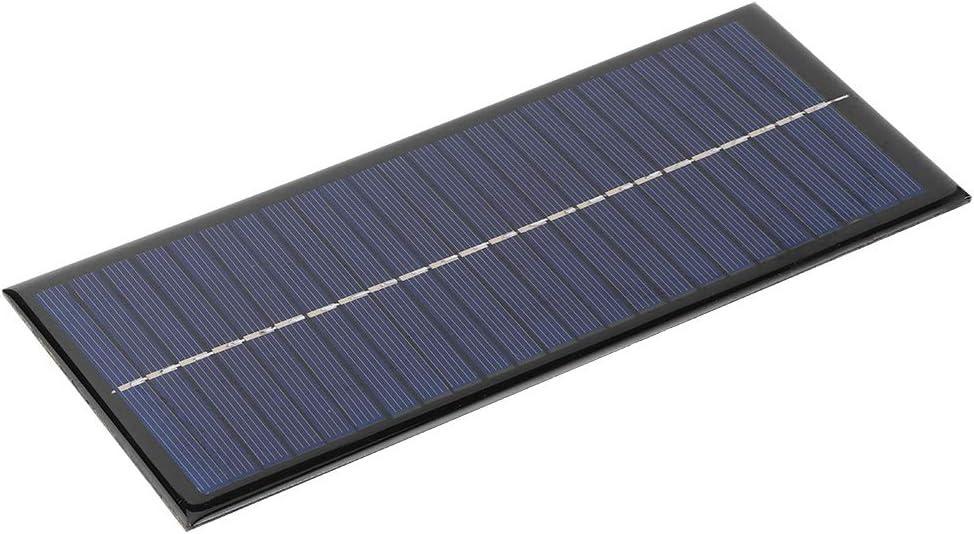 1,5 W 12V panneau solaire DIY silicium polycristallin Pour Chargeur téléphone