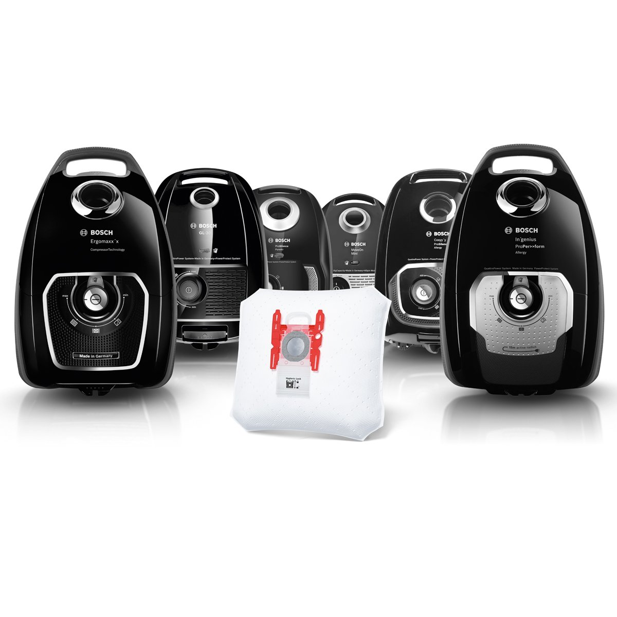 Bosch Megaair SuperTex BBZ41FGALL - Bolsas para aspiradora, tipo G ALL