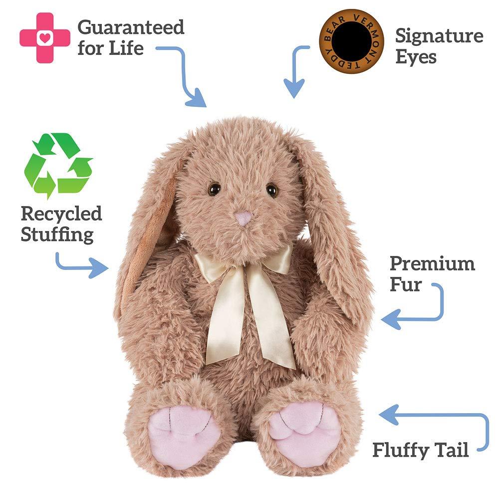 9cba2e8e943 Amazon.com  Vermont Teddy Bear - World s Softest Easter Bunny ...