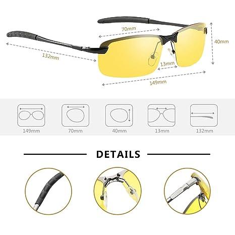 Amazon.com: Gafas de sol polarizadas, gafas de conducción ...