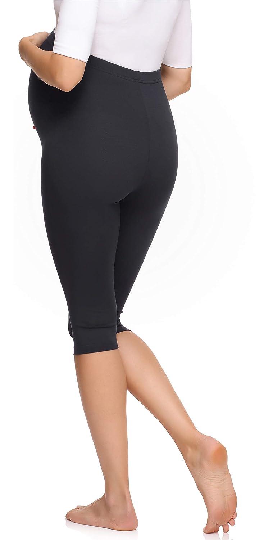Merry Style Legging 3//4 Grossesse Maternit/é Tenue Sport Femme MS10-298