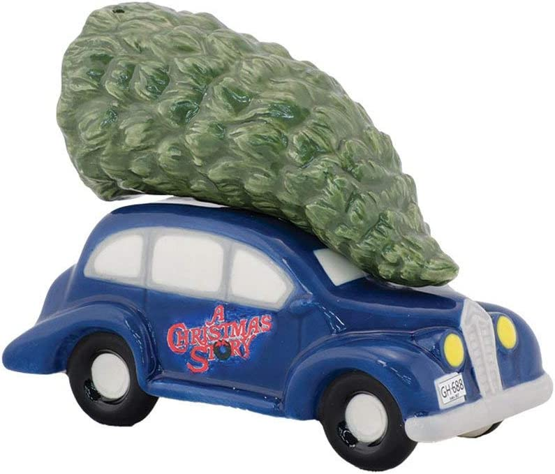 Enesco Department 56 4043241 A Christmas Story Car and Tree Salt and Pepper