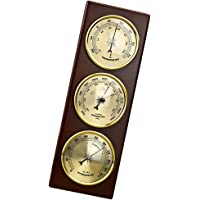 Baosity Barometer Thermometer Hygrometer Wall Hanging Temperature Humidity Monitor Atmospheric Pressure Meter for Home…