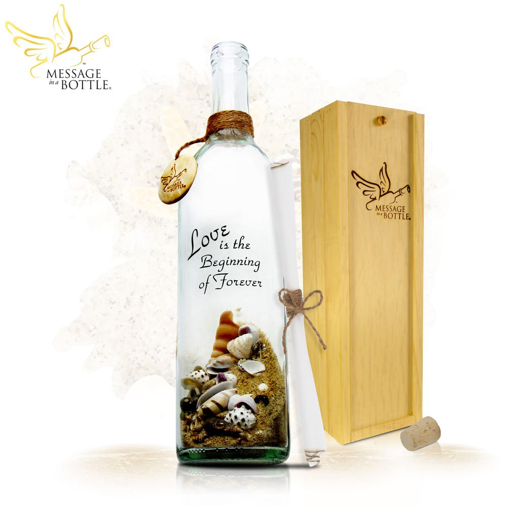 Message In A Bottle ® ''PROMISE'' Personalized Gift for Him or Her