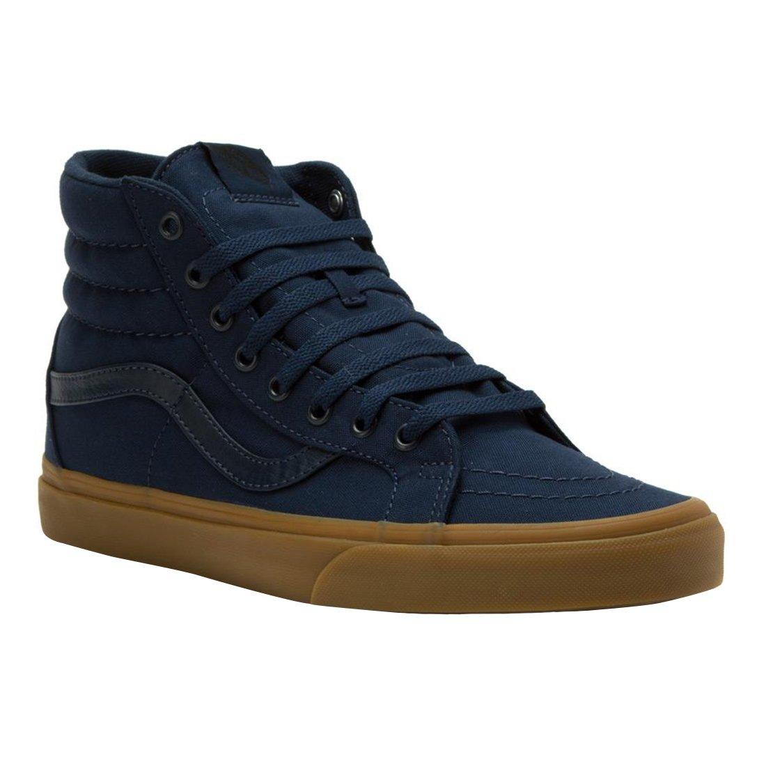 86f02780a0 Galleon - Vans Mens SK8-Hi Reissue Sneaker Dress Blues Light Gum Size 10