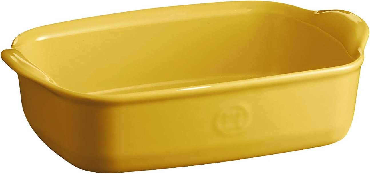 Emile Henry EH909649 Individual Oven, Provence Yellow rectangular baking dish, 0.79 qt