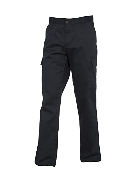 9aa848a6eacb21 Uneek UC905 Polyester Cotton Women's Ladies Cargo Trouser: Amazon.co ...