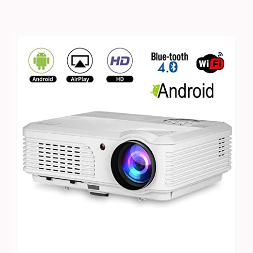 Ai LIFE Proyector LED Bluetooth Home Theater HD 1080P Soporte ...