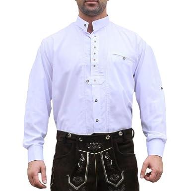 Trachtenhemd, trajes camisa para Lederhosen trajes de algodón ...