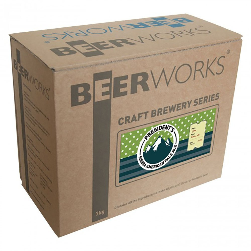 Beerworks Craft Brewery Series Presidents Sierra American Pale Ale - Home Brew Beer Kit
