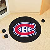 NHL Montreal Canadiens Hockey Puck Shaped Accent Rug