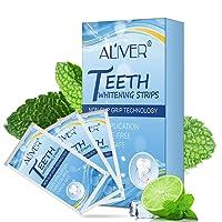 Teeth Whitening Strips-Dental Whitener Professional Effect Whitening Strips,Whitener Whitening Teeth Kit,Tooth Oral Care No Sensitivity, Helps to whiten teeth -21 Pack(42 Pcs)