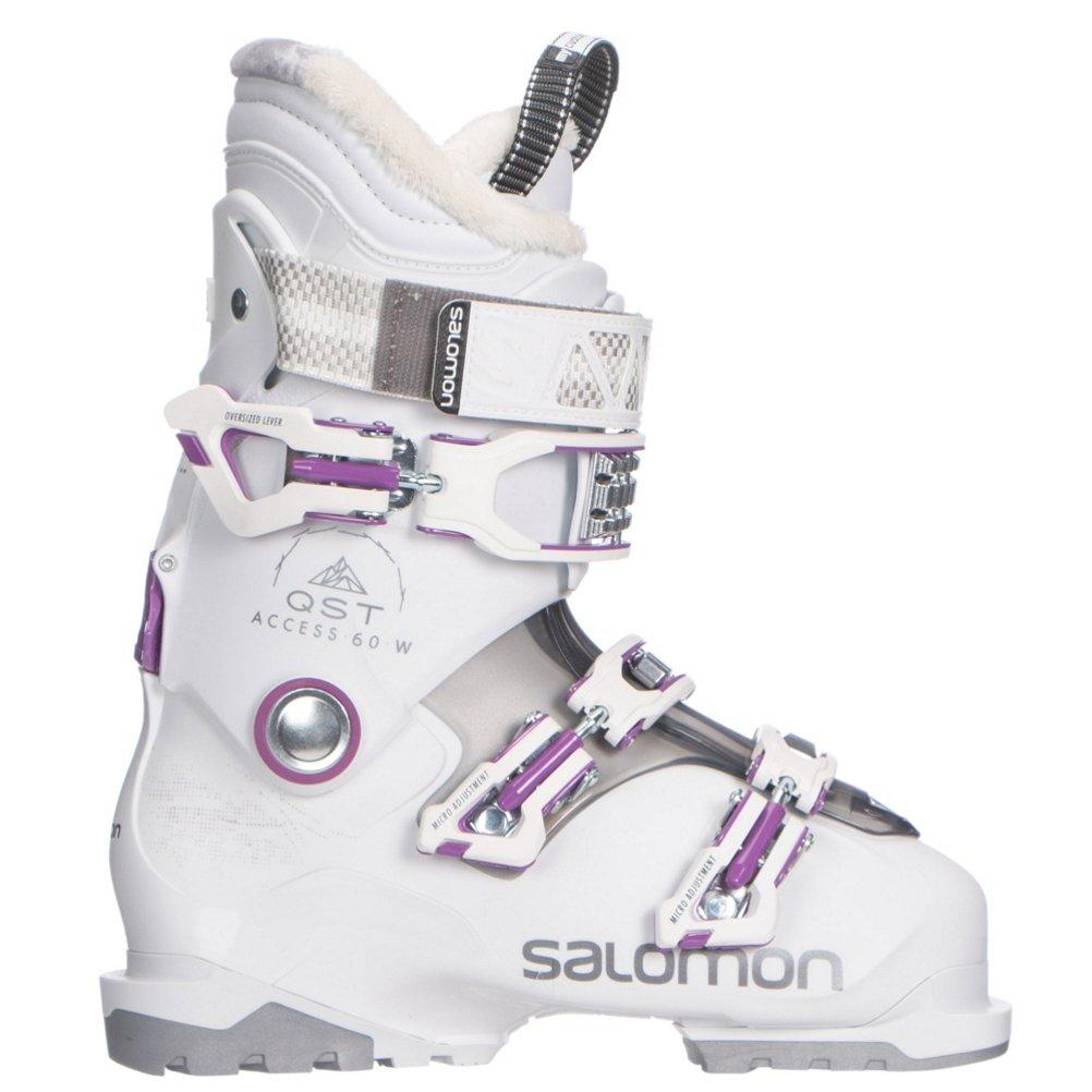 Femme Access 60 Chaussure Blanc Qst Taille Ski W Salomon Yfybg76
