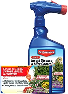 BioAdvanced 100531789 3-in-1 Insect Disease & Mite Control Spray, White