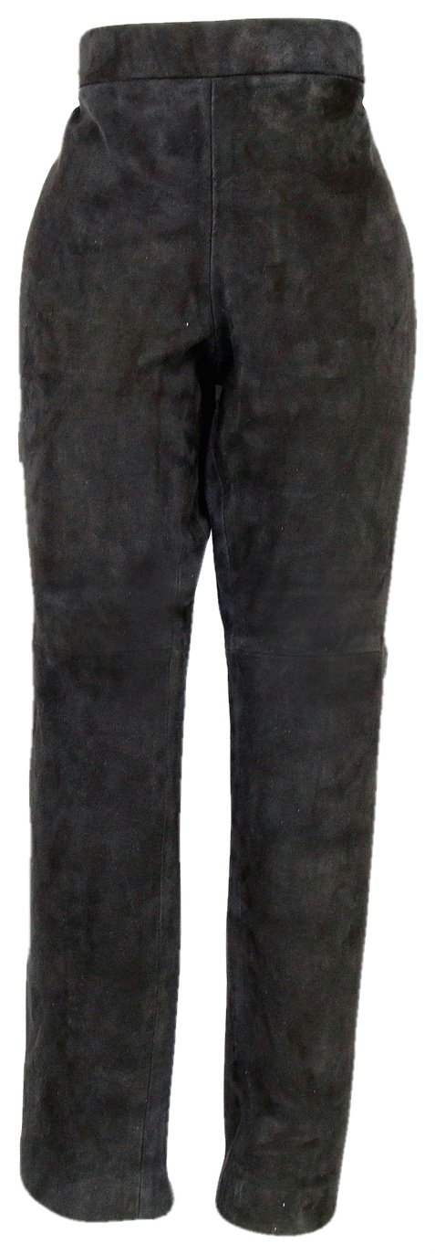 J Crew Collection Stretch Suede Leggings Black Size 00 Style 13794 New