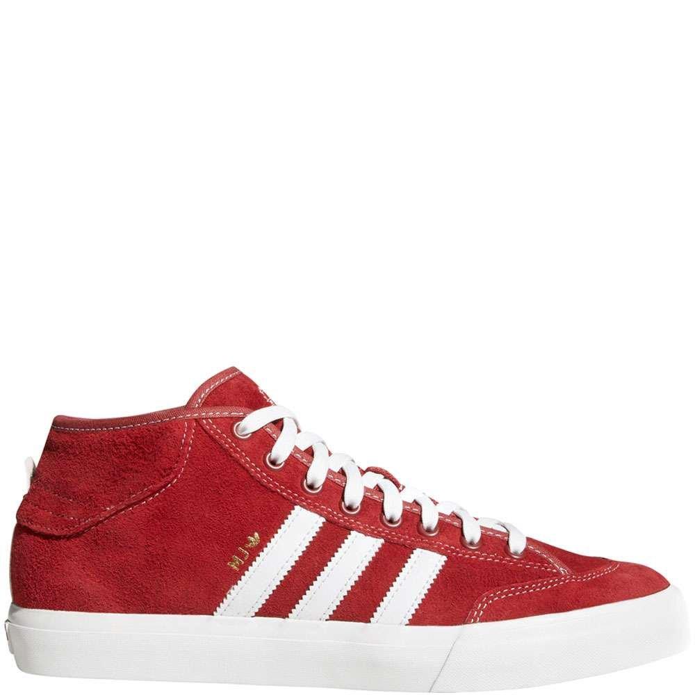 Adidas Matchcourt Weiß Mid Turnschuhe Mystery rot Weiß Matchcourt Mens 11 cf33be