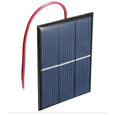 AMX3d Micro Mini Solar Cells – 1.5V 400mA Compact 80 x 60mm Solar Panels – Power Home DIY Projects, Toys & Battery Chargers (1) : Garden & Outdoor [5Bkhe0403666]
