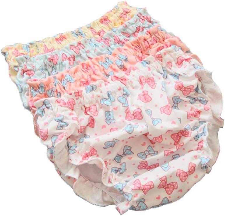 Baby Girls 4 Pack Bloomer Shorts Ruffle Recién nacido Niño ...