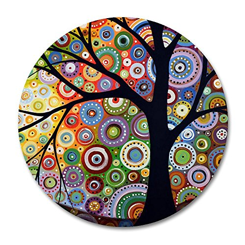 """Price comparison product image Tree of Life Customized Round Mouse Pad 7.8""""X7.8"""" inch"""