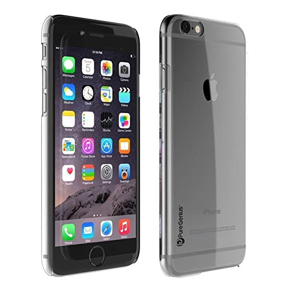 sports shoes 4e291 c1581 iPhone 6 Case, [Clear Bumper Case] Protective Apple iPhone 6 Clear Case  [Slim] Works with All iPhone 6/6S Screen Protectors, Clear Hard Case