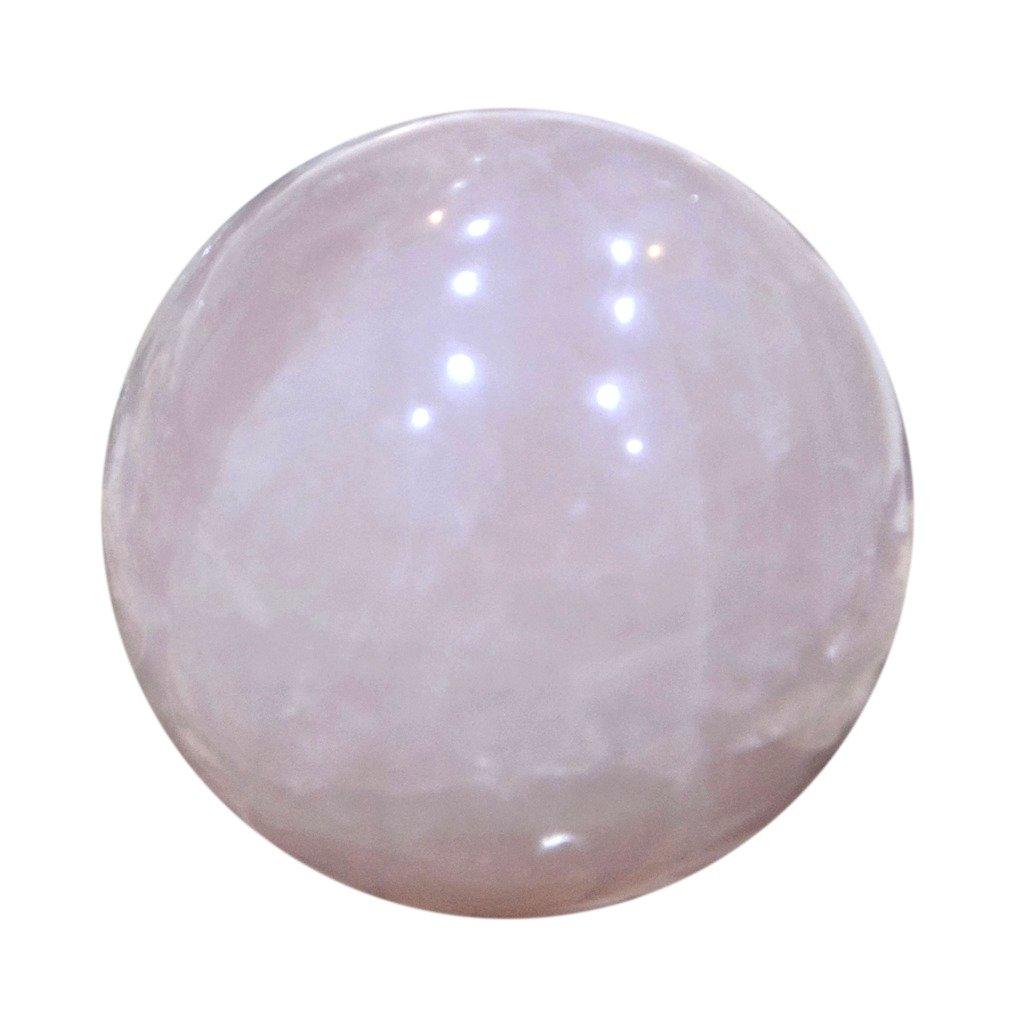 Aatm Reiki Energized Rose Quartz Ball Stone Of Love & Relationship by Aatm (Image #3)