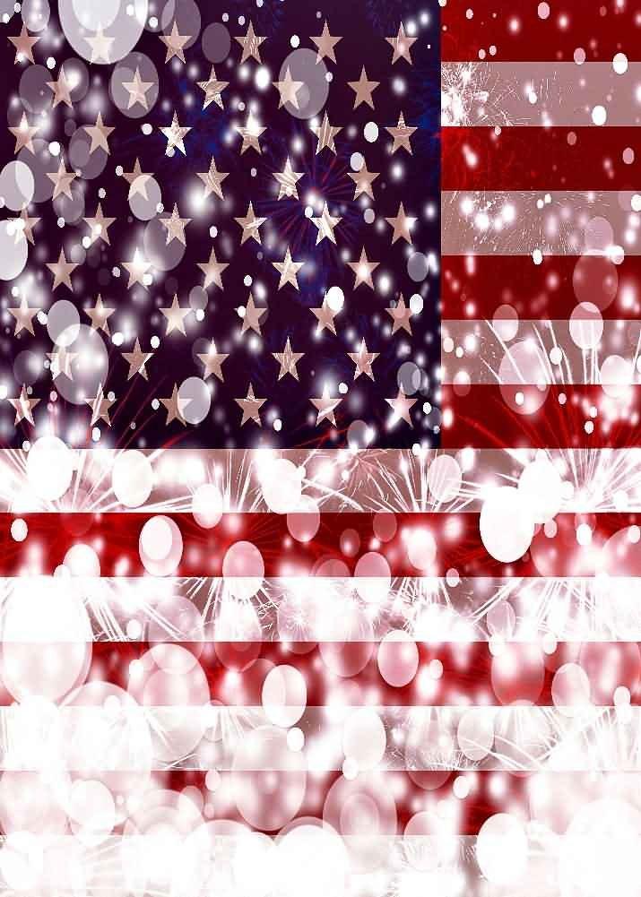 GladsBuy 光沢のあるアメリカ国旗 1.5m X 2m デジタル印刷背景 撮影事務室用背景 フラグのテーマ 結婚式用背景 Cosplay用背景 YHA-166   B016BX95YG