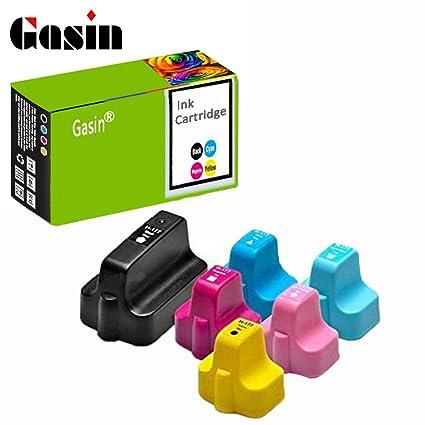GASIN Cartucho de tinta compatible para HP 177 HP177 HP C7170 ...