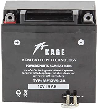 Batterie Gel Kage Typ Yb9 B Yb9a A Yb7 A 12n9 4b 1 Für Honda Yamaha Ktm Triumph Aprilia Cagiva Derbi Gilera Kawasaki Piaggio Vespa Auto