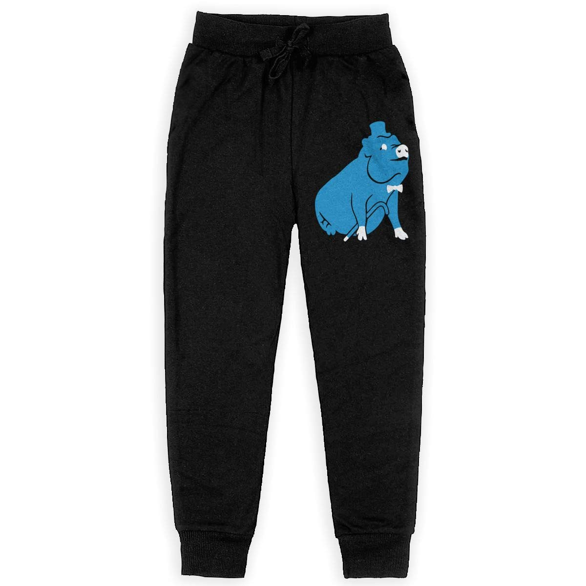 Girls Warm Fleece Active Pants for Teen Boy Fancy Pig Soft//Cozy Sweatpants