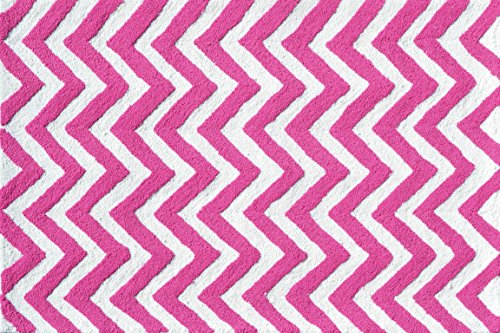 The-Rug-Market-Chevron-Pink-Childrens-Area-Rug-28-x-48