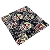 Sugar Skull Fabric Crochet Hook Case - Keeps Hooks Organized - Perfect Hook Holder For At Home Or Travel!