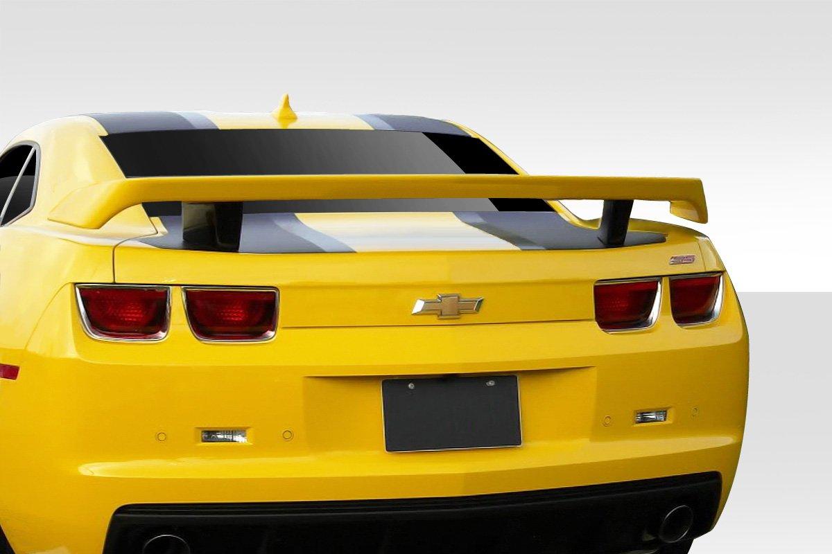 Duraflex Replacement for 2010-2013 Chevrolet Camaro High Wing Trunk Lid Spoiler 1 Piece